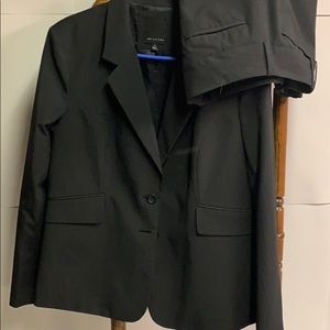The Limited Black Jacket and Pants Size 14 Suit